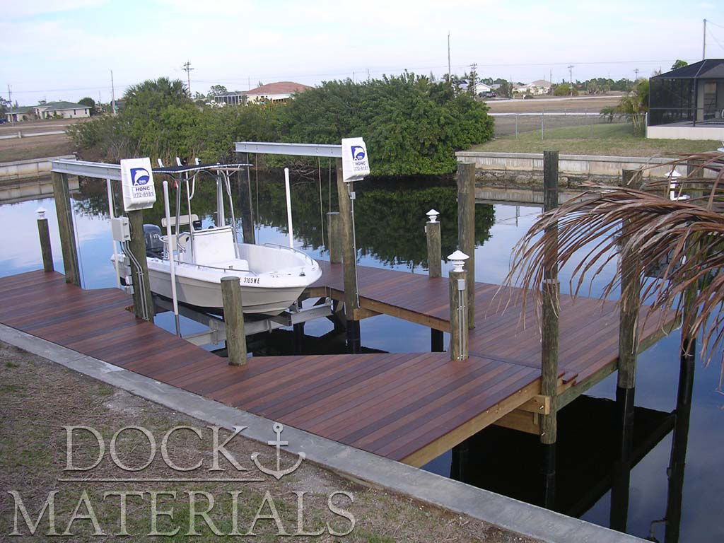 The finest dock materials available.
